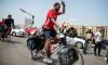 Фанат сборной Египта едет на велосипеде на ЧМ-2018 в Россию