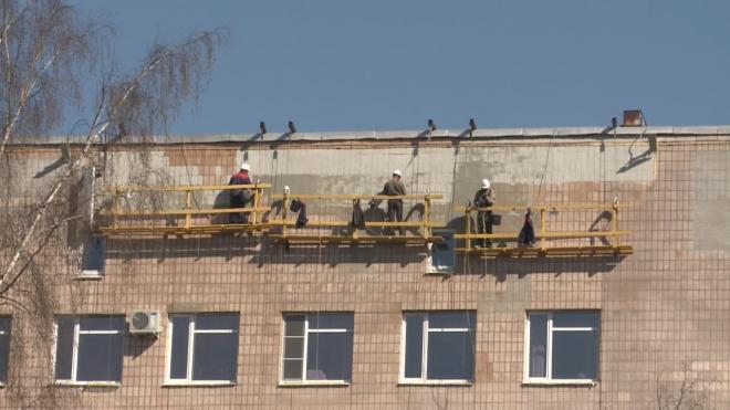 На ремонт жилых домов Петербурга в 2020 году потратили 13,5 млрд рублей