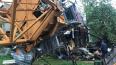 В Красноярске погиб крановщик упавшего крана