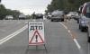 На Петергофском шоссе собрался «паровозик» из 4 автомобилей