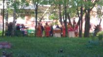 У больницы в Петербурге провели массовое богослужение
