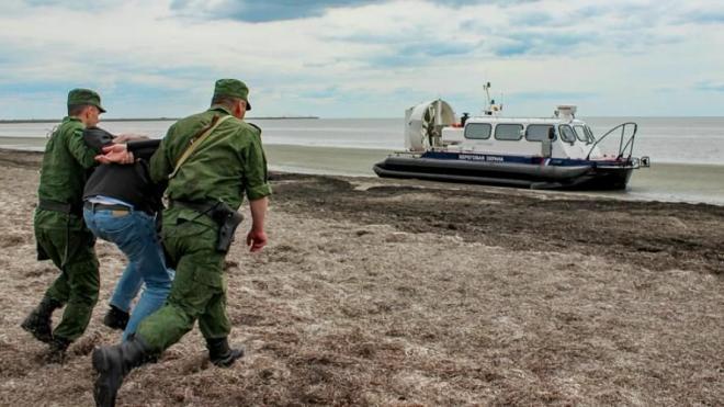 Крымские пограничники задержали украинца при попытке незаконно проникнуть в Россию