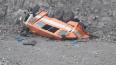 В Кузбассе грузовик с рабочими упал в обрыв. Опубликован ...