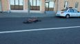 Водитель Renault сбил велосипедиста на Большеохтинском ...