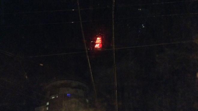 Авария обесточила троллейбусную линию на Ленинском проспекте