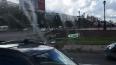 Сильный ветер повалил светофор на пересечении Есенина ...