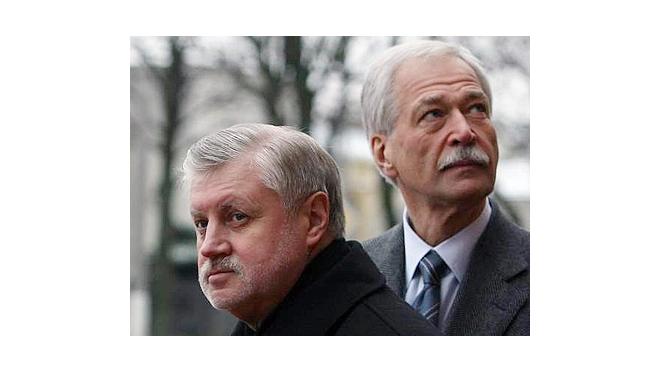 Борис Грызлов предложил Сергею Миронову отказаться от сенаторских полномочий