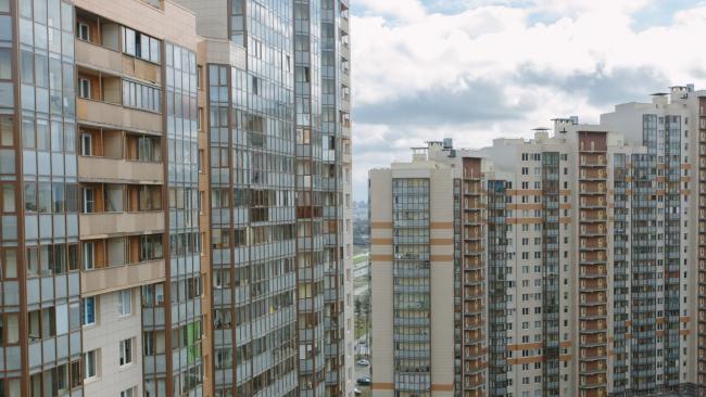 В Петербурге в августе введено 130,4 тысяч квадратных метров жилья