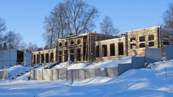 К концу 2021 года Усадебный дом в Выборге полностью отреставрируют
