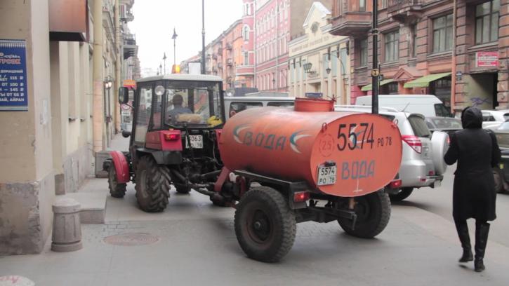 Фасады домов в Петербурге начнут отмывать и ремонтировать со следующей недели