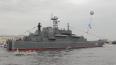 В параде на День военно-морского флота в Петербурге ...