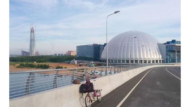 Строителям Петербурга не дали президентский грант на уже построенный Яхтенный мост