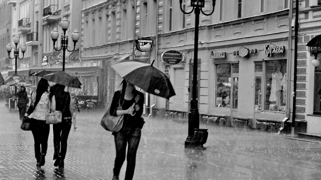Зонтики в помощь: в Петербурге ожидается небольшой дождь