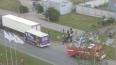 В ДТП с маршруткой в Петербурге пострадали люди