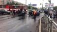 На проспекте Просвещения иномарка протаранила трамвай: ...