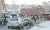 Жителей Челябинска напугал массовый досмотр авто в центре города