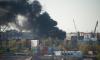 Очевидцы: на территории терминала морского рыбного порта в Петербурге горит автопогрузчик