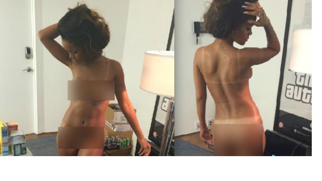 Хакеры слили в сеть горячие фотографии с Рианной