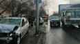 В Томске иномарка влетела в пешеходов на тротуаре, ...