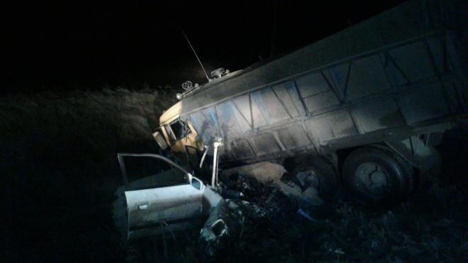 Под Курском в лобовом ДТП с легковушкой и КАМАЗом погибли 5 человек