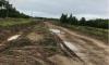 Дорогу к поселку в Волховском районе построили лишь на 1%