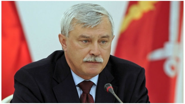 Георгий Полтавченко ушел в отпуск до 27 апреля