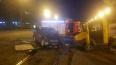Фургон влетел в кроссовер на Московском