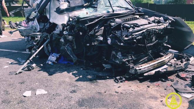 Водитель Toyota погиб в жестком  ДТП под Лугой