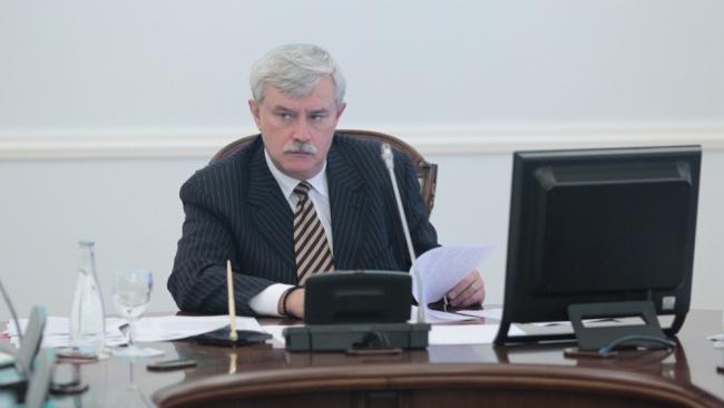 Губернатор Петербурга Полтавченко сменил глав двух районов и комитета по труду