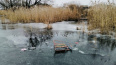 В Липецкой области две сестренки провалились под лед и у...