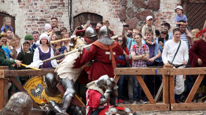 В Выборгском замке состоится турнир Святого Олафа