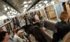 """Неизвестный разбил окно в вагоне на станции """"Гражданский проспект"""""""