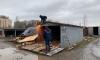 Местные жители попытались помешать чиновникам сносить гаражи на Стародеревенской улице