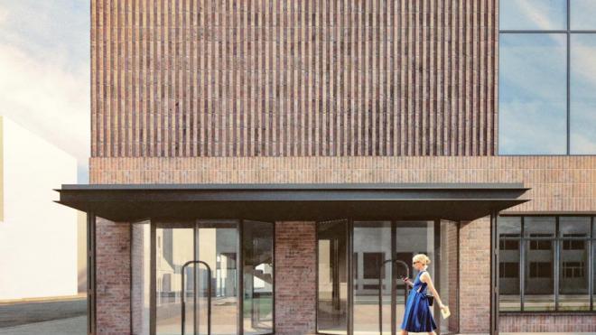 """Появились первые кадры с внешним видом будущего здания на месте """"Родины"""""""