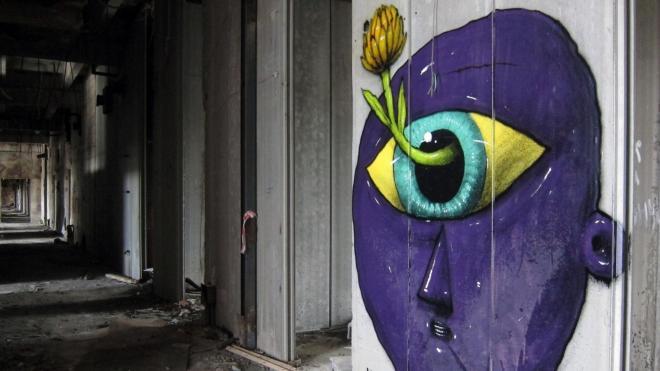 """Уличный художник Саша Блот: """"Я хожу рисовать на улицу ради глотка свободы"""""""