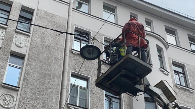 Фонарный переулок оборудуют 17 новыми светильниками