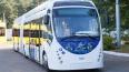 В Петербурге тестируют огромный белорусский электробус