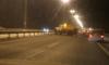 В Петербурге на КАД бензовоз потерял колеса и врезался в ограждение