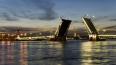 Ночью на вторник два моста в Петербурге разведут по необ...