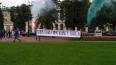 """Активисты вывесили перед Смольным баннер """"Теперь гайд-па..."""