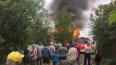 В Киришском районе сгорела дача: фото