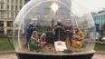 У Казанского собора установили вертеп со сценой Рождества ...