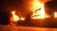 В Петербурге горел ангар автосервиса Volvo на Репищева