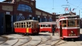 Ретро-трамвай снова выходит на улицы Петербурга