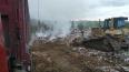 В Мурино на территории промзоны загорелась несанкциониро...