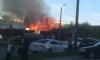 В Горелово выгорел жилой дом: пострадала женщина