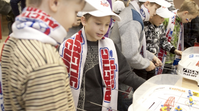 Воспитанники детдома из Великих Лук посетили турнир Arctic Cup