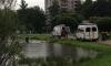 В озере у Светлановского проспекта ищут утопленника