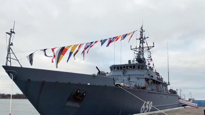 Петербургская верфь передала ВМФ корабль нового поколения