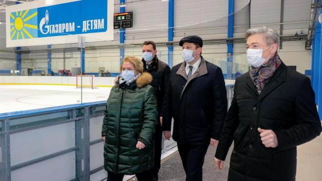 Спортивный комплекс в Светогорске начал работу